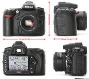 Nikon D90 + AF Nikkor 50mm 1.8Dполный комплект.